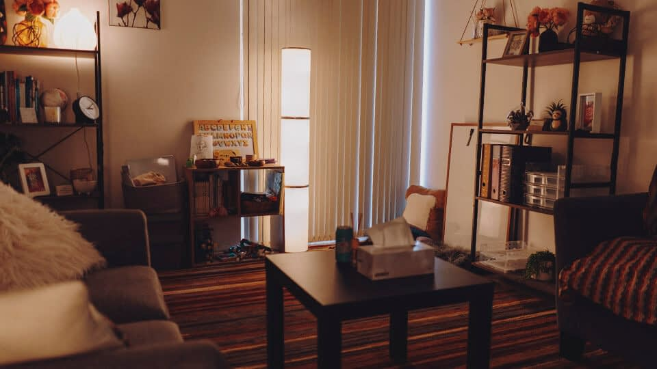 Child Psychologist Therapy Room